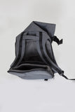 Black Melange Medium Isar Rucksack