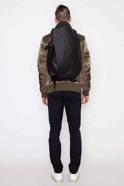 Coated Canvas/Leather Medium Isar Rucksack