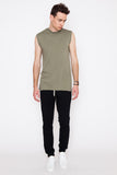Washed Green Telia Sleeveless Tee