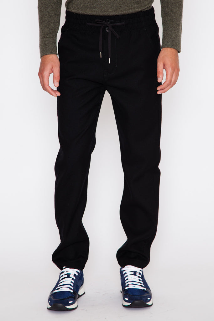 Felted Suiting Elastic Waist Chino