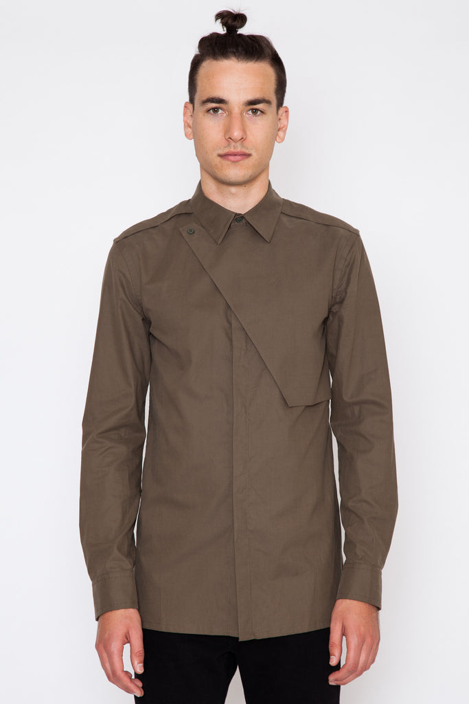 Uniform Storm Flap Shirt