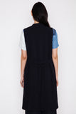 Blue Nights Town Long Vest