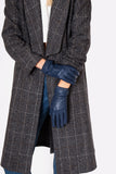 Blue Stall Leather Gloves