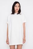 White Angle Mini Dolman Open Back Dress