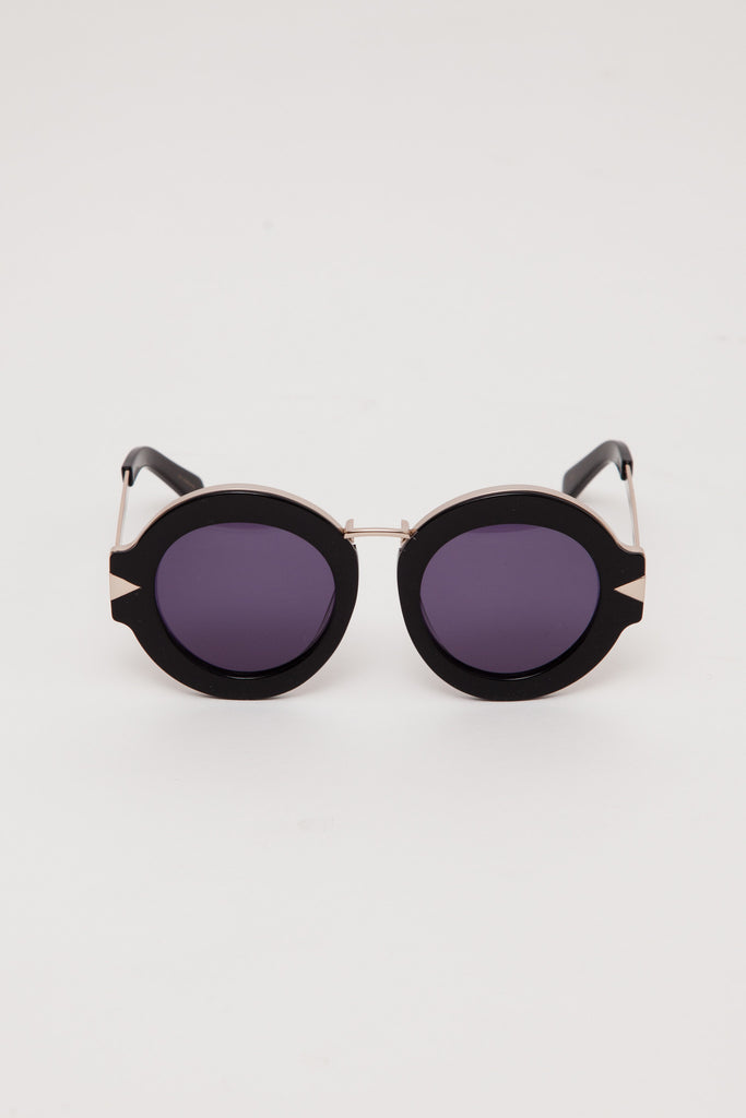 Black/Gold Maze Sunglasses