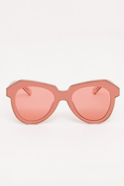 Rose Pink One Astronaut Sunglasses