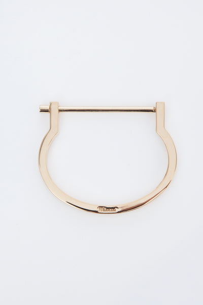 Gold Modern Screw Cuff