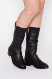 Kamila Two-Tone Foldover Boot