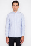Abrasion Print Oxford Shirt