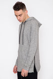 Brine Side Zip Elongated Hoodie