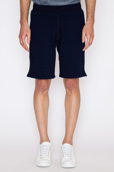 Indigo Terry Sweatshort