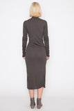 Darkdust L/S Wrap Dress