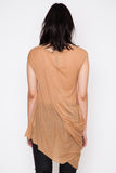Rose S/S Side Drape Tee