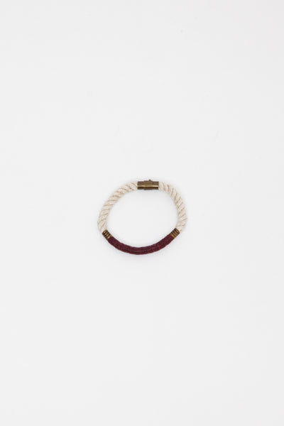 Bordeaux Snug x RG Single Bracelet