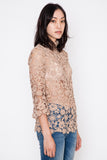 Sila Lace Turtleneck Top
