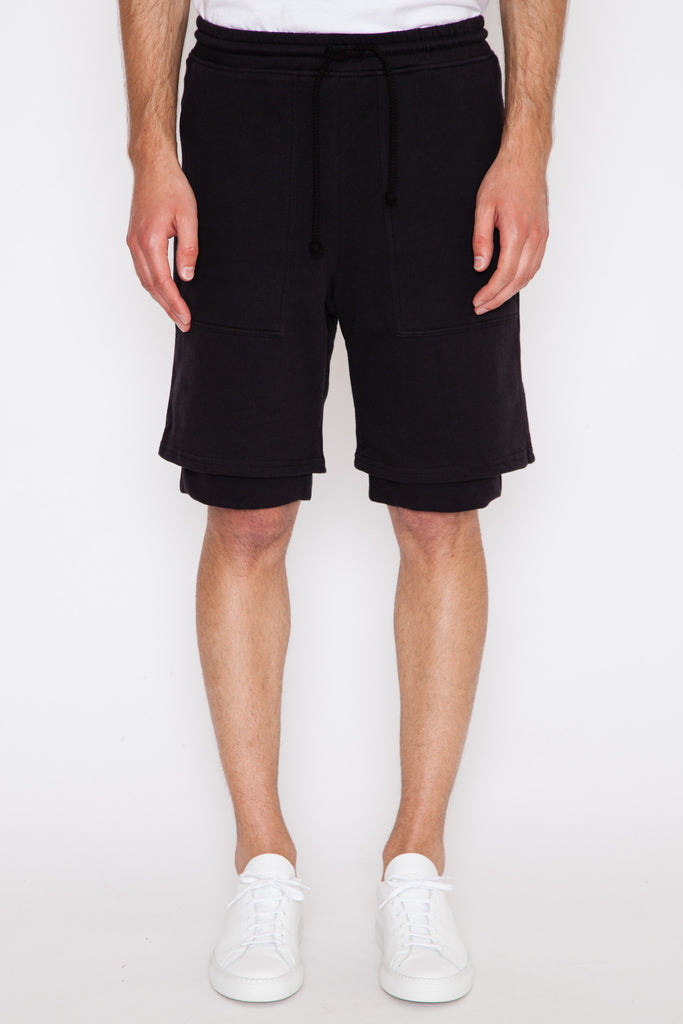 Angora French Terry Double Layer Short