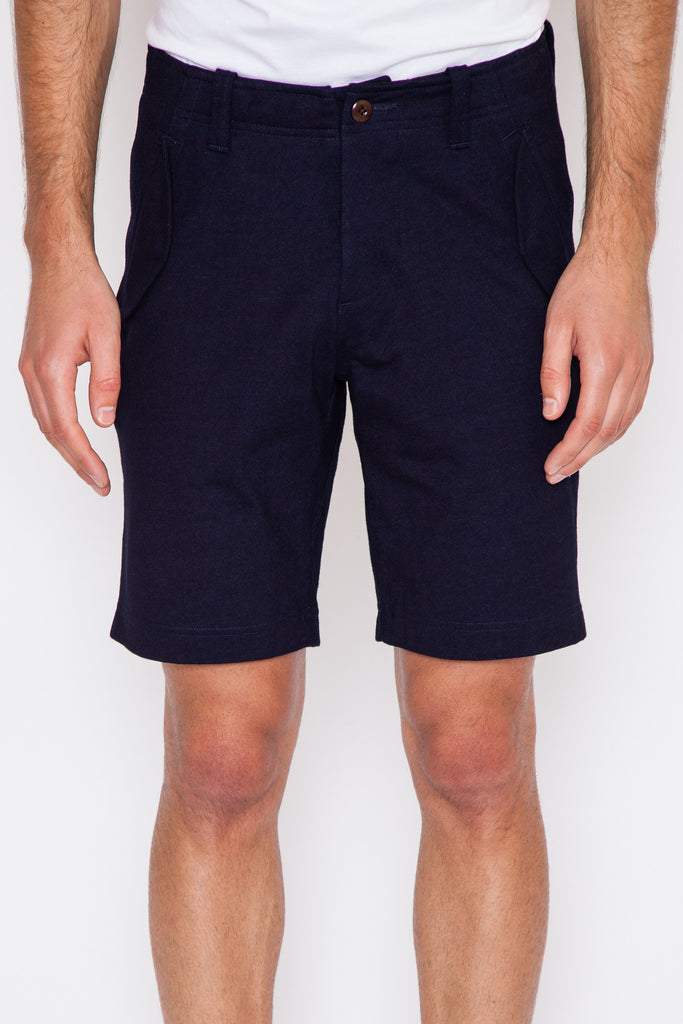 Heavyweight Jersey Indigo Field Short