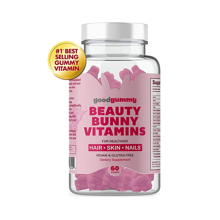 good gummy BEAUTY BUNNY VITAMINS for  Hair, Skin, Nails