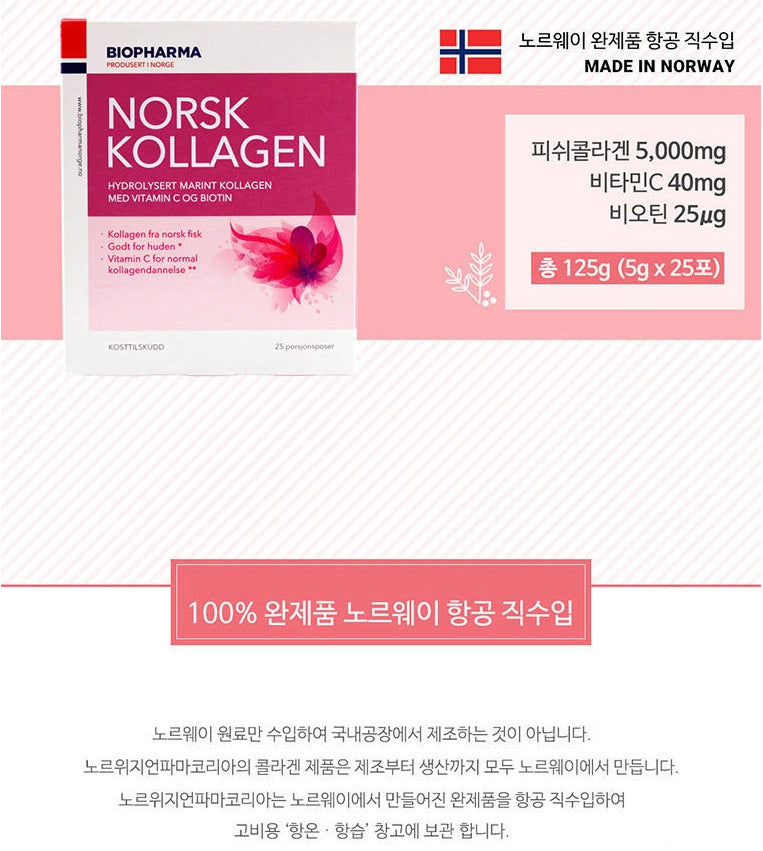 BIOPHARMA NORSK Collagen - Angie&Ash