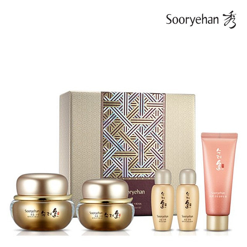 SOORYEHAN Boyun Cream Set _ Red Ginseng Cream - Angie&Ash