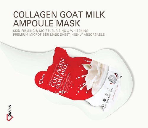 DIAPIA Collagen Goat Milk Ampoule Mask - Angie&Ash
