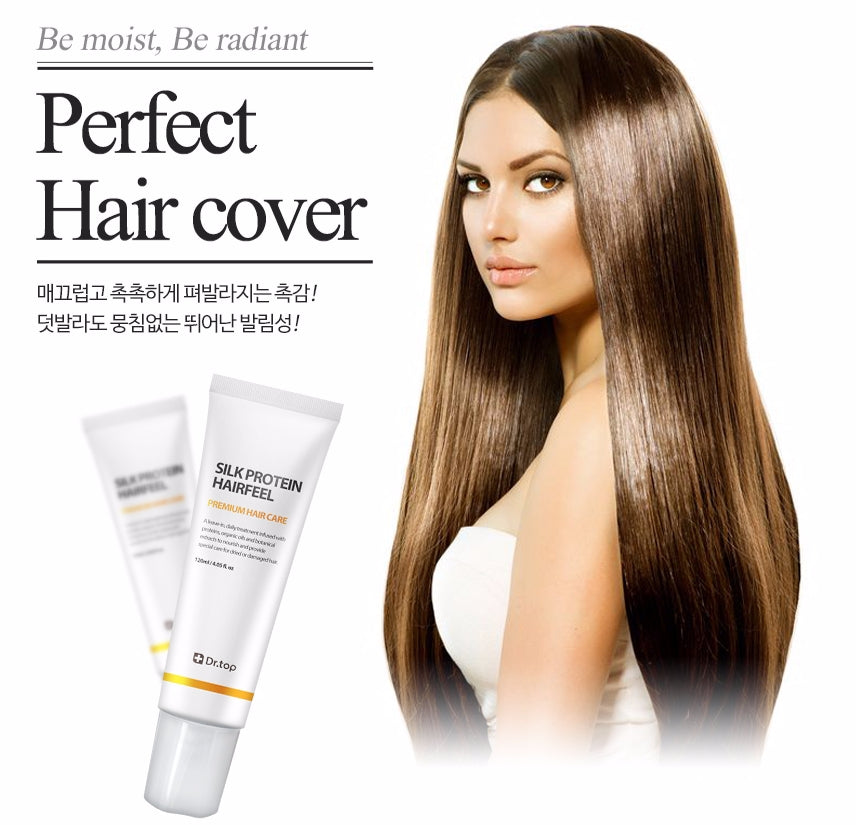 DR. TOP Silk Protein Hairfeel Leave in Treatment  for Normal Hair - Angie&Ash