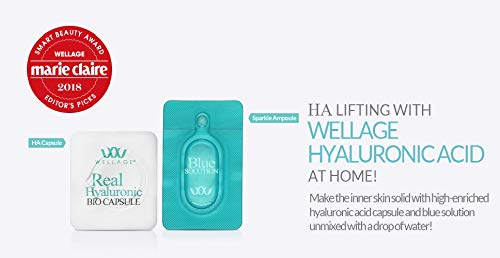 WELLAGE Real Hyaluronic Bio Capsule & Blue Solution (1 Day Kit) - Angie&Ash