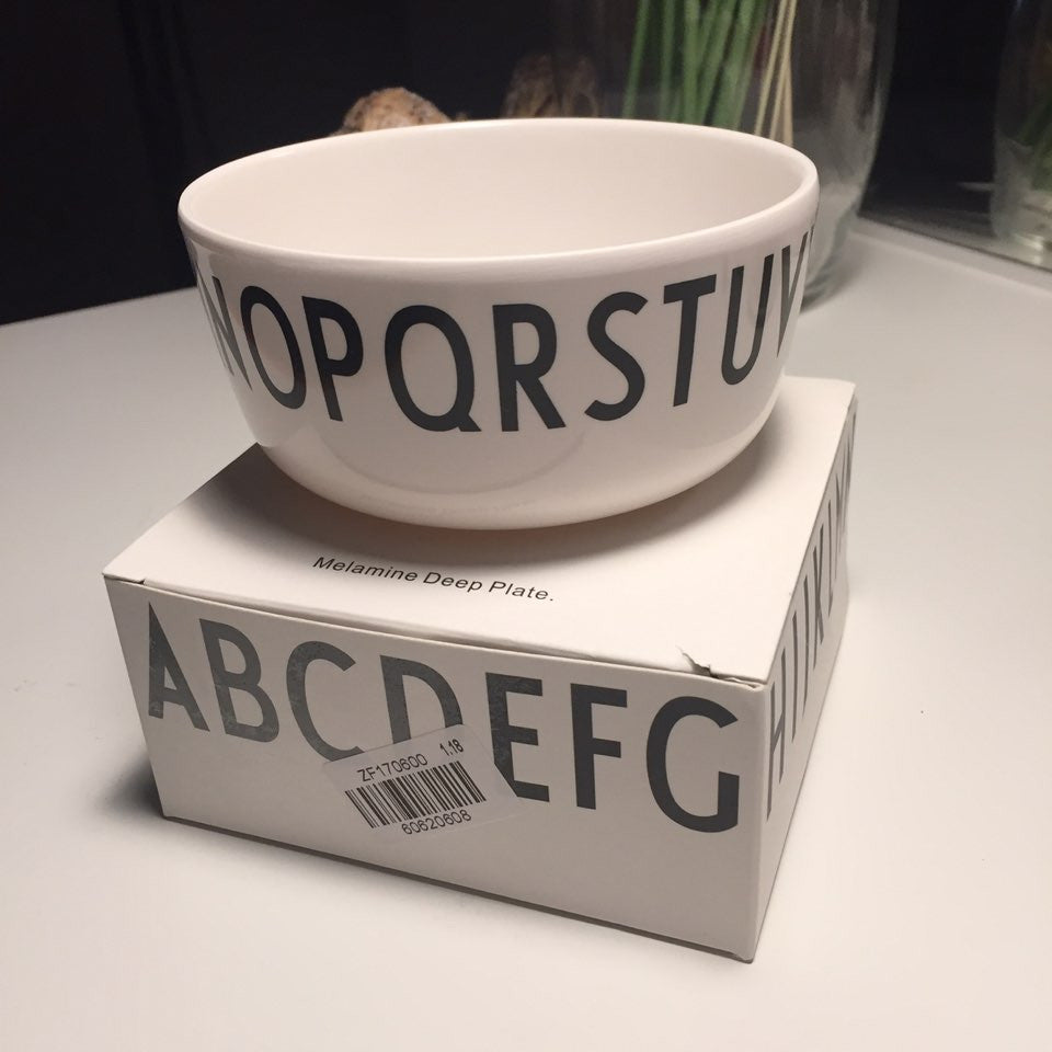 Alphabet Tableware_Bowl - Angie&Ash
