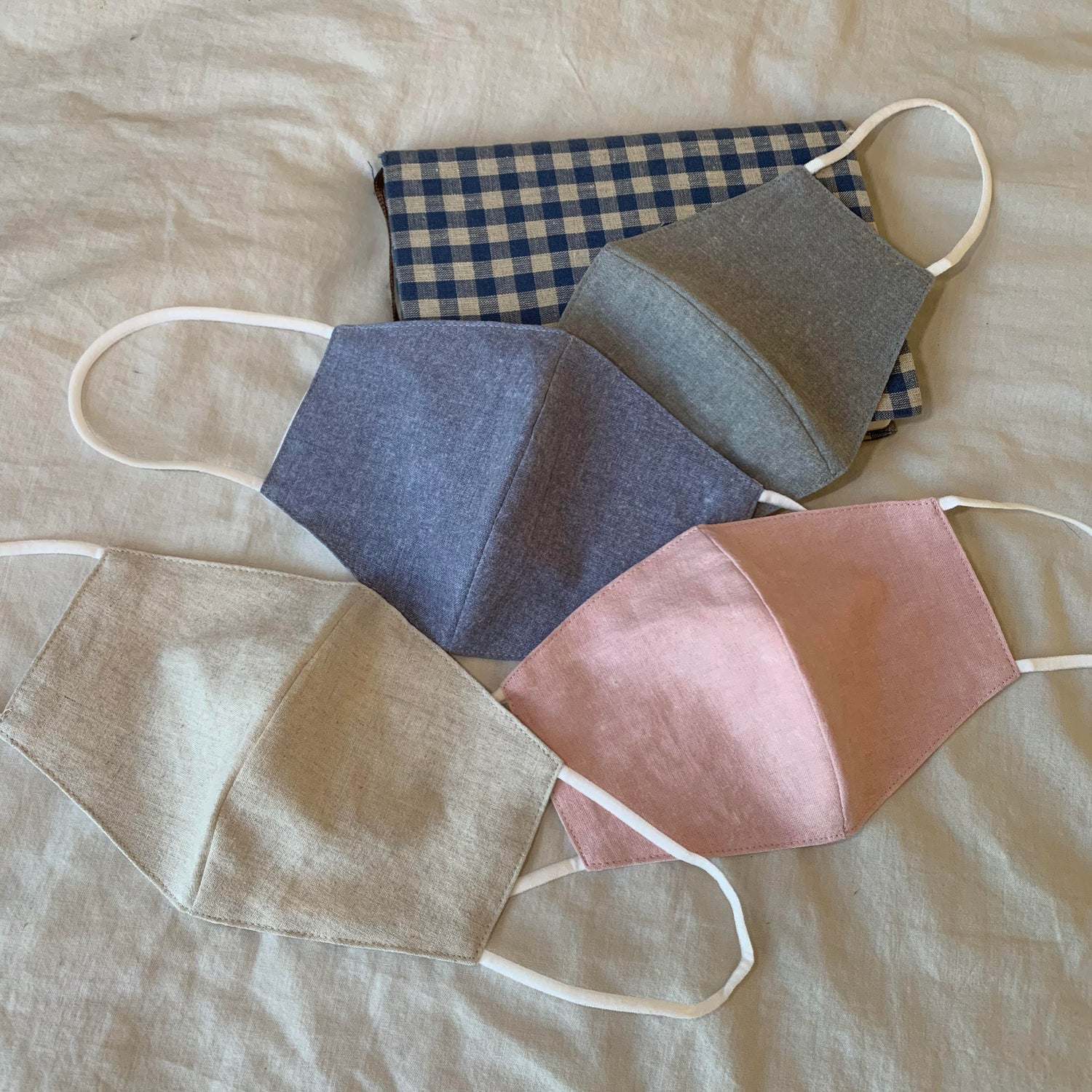 Pastel Washable/Reusable Fabric Unisex Face Mask