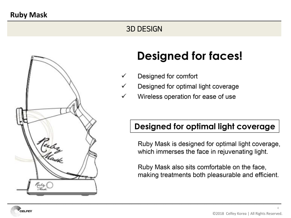 RUBY MASK_Premium LED Light Therapy Mask - Angie&Ash