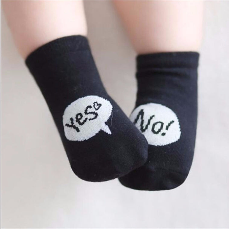 Yes! No! Cotton Socks
