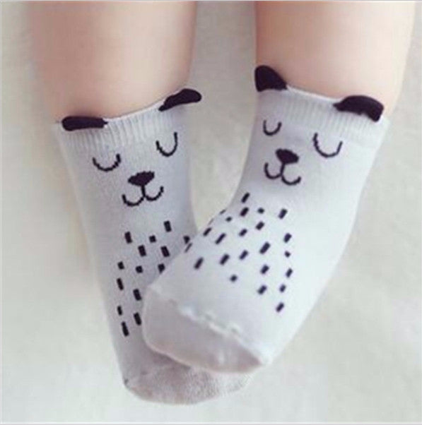Bear Cotton Socks