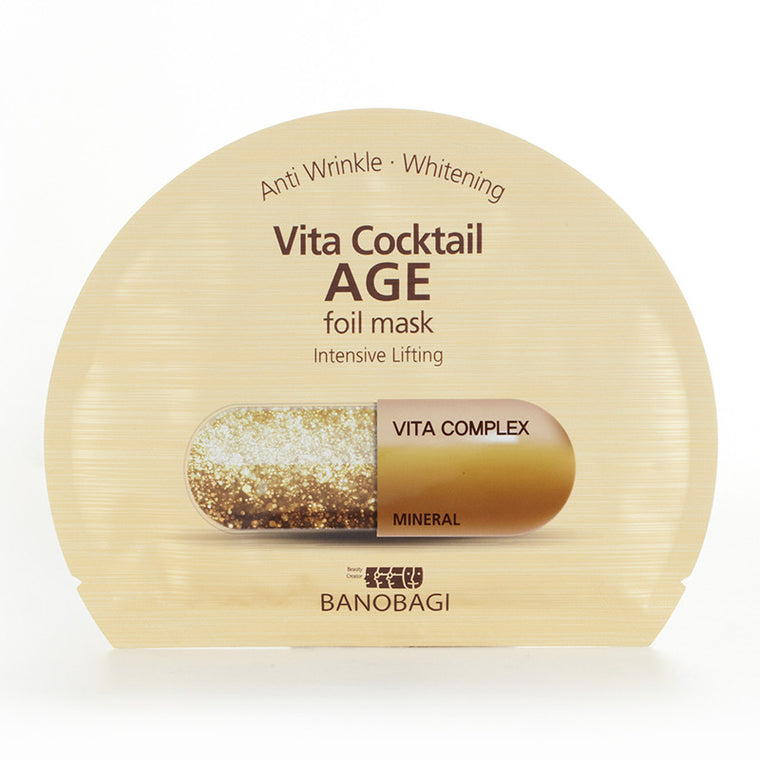 BANOBAGI Vita Cocktail Age Foil Mask