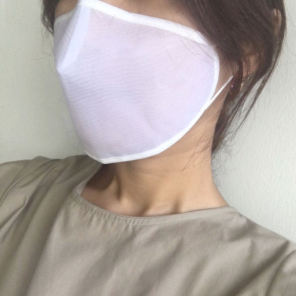 2 Layers Sheer Mesh Waterproof Summer Breathable Face Mask