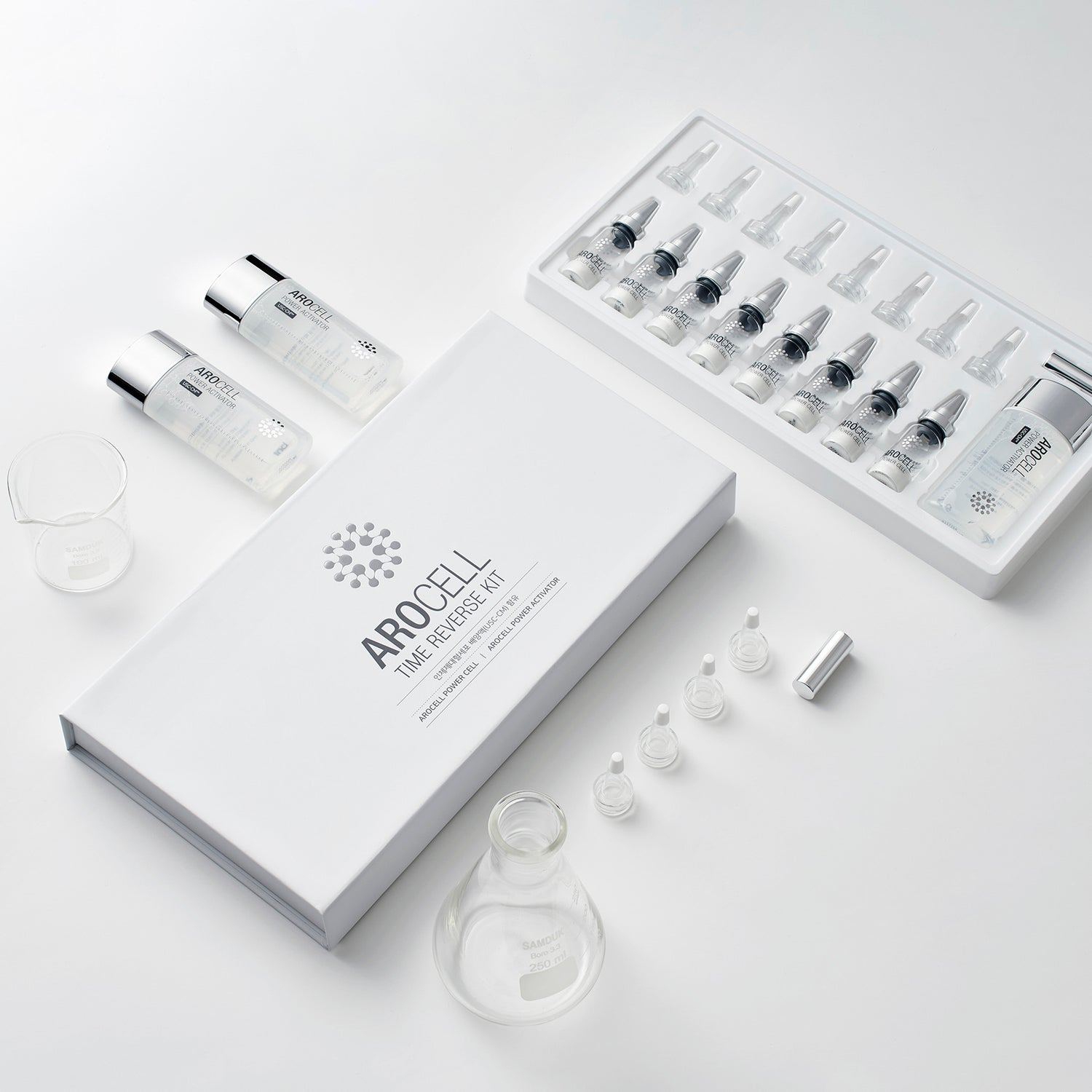 AROCELL Time Reverse Ampoules Kit (회춘앰플)