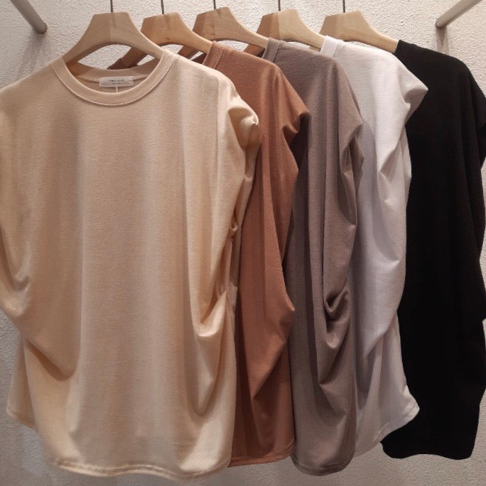 Eva Wide Shoulder Muscle T-Shirt_5 Colors