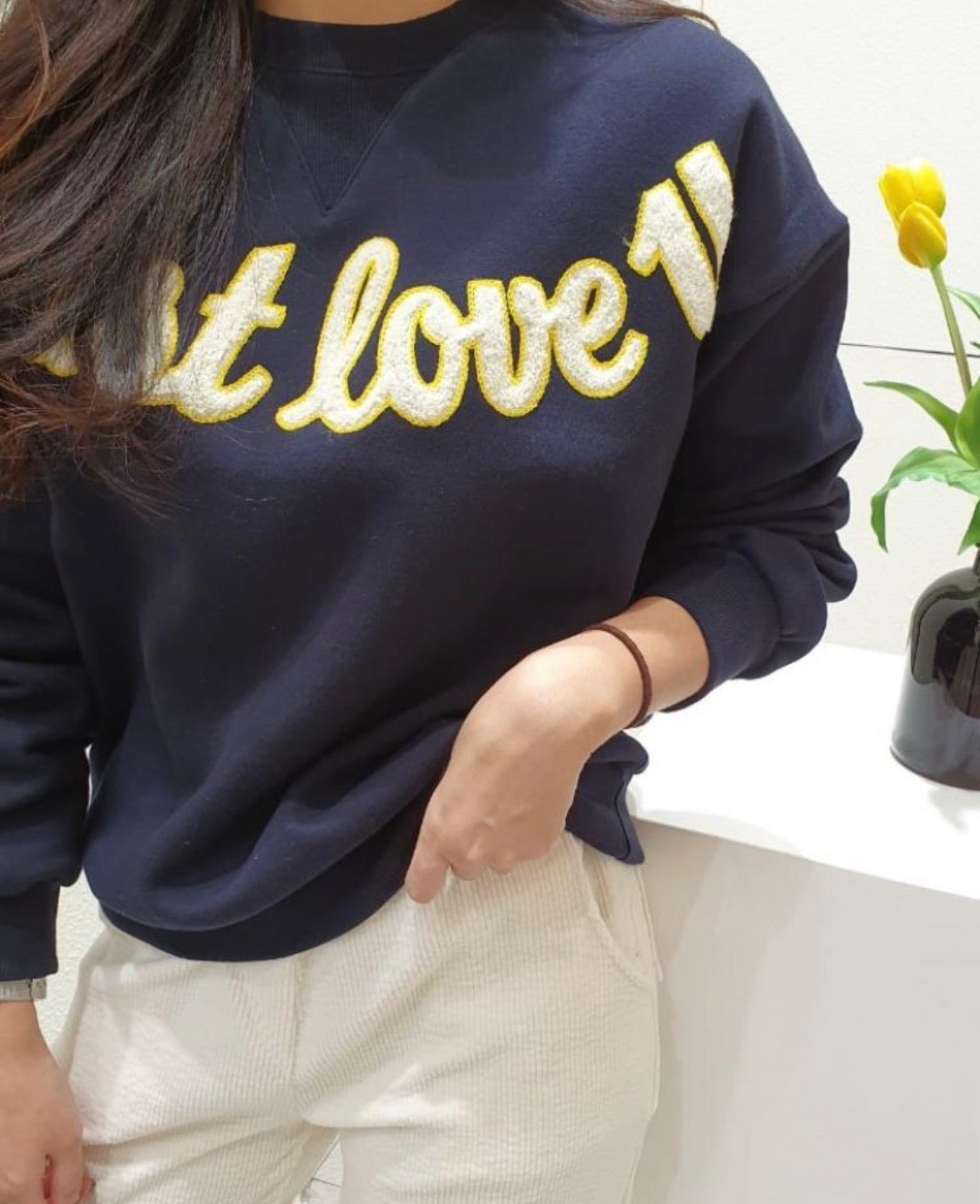 Love U Warm Sweatshirt (2 colors) - Angie&Ash