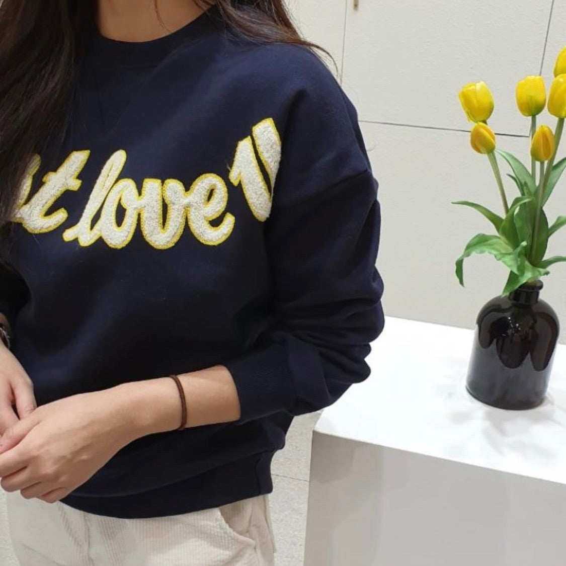 Love U Warm Sweatshirt (2 colors)