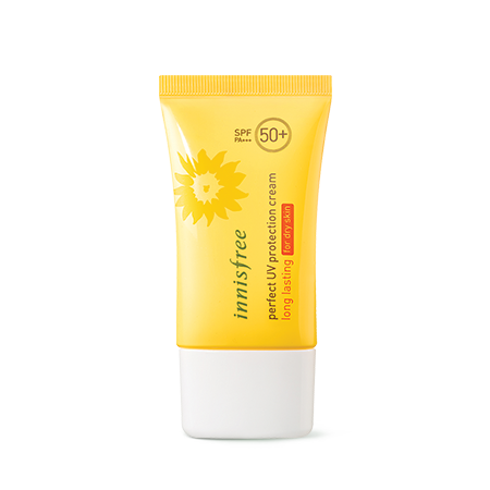 Innisfree Perfect UV Protection cream long lasting SPF50+ PA +++ for dry skin