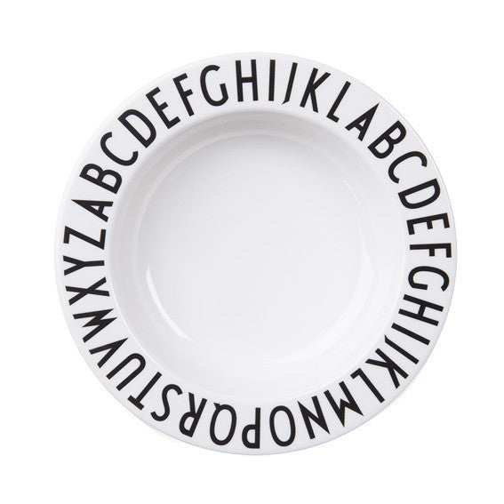 Alphabet Tableware_ Deep Plate