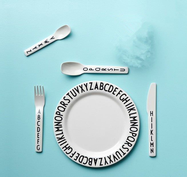 Alphabet Tableware_ Plate - Angie&Ash