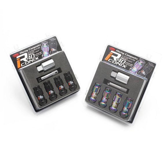 Project Kics R40 Iconix lug nut Lock sets