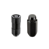 McGard 6 Lug Hex Install Kit w/Locks (Cone Seat Nut) M14X1.5 / 13/16 Hex / 1.945in. Length - Black