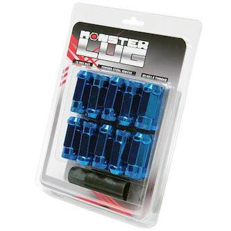 Monster Lug Nuts - [Whiteline] - The Lug Nut Source