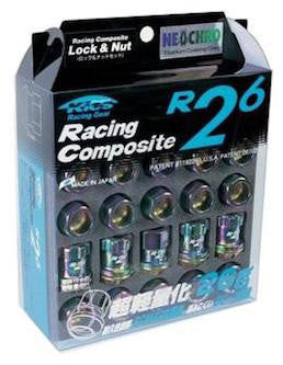 Project Kics R26 Lug Nuts - [Whiteline] - The Lug Nut Source
