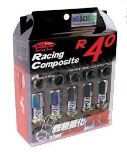 Project Kics R40 Lug Nuts - [Whiteline] - The Lug Nut Source