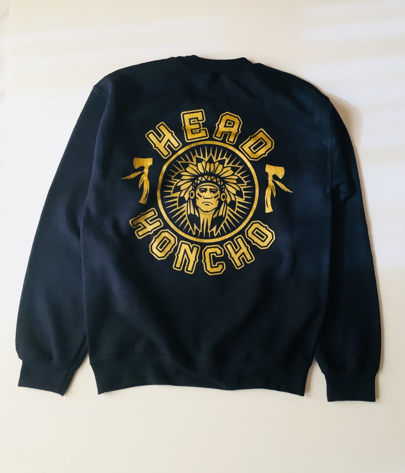 Head honcho lightweight crewneck.