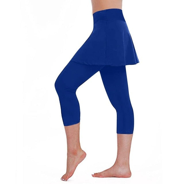 Leggings Fitness Calf Pants