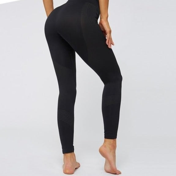 Fitness Women Push Up  Leggings