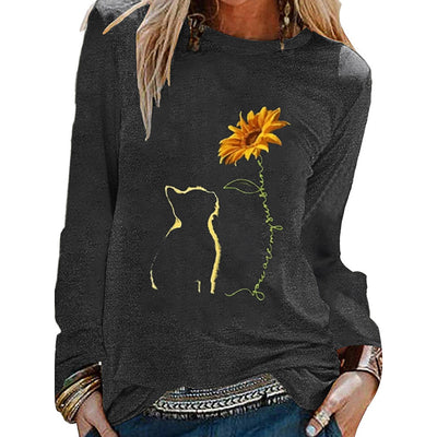 Funny Sunflower T Shirt